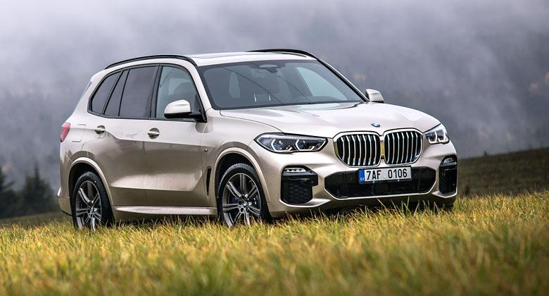 Poprvé za volantem BMW X5 (G05). Chyby se hledají těžko