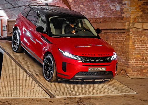 Nový Range Rover Evoque prozrazuje české ceny. Do milionu se vejde jediná verze