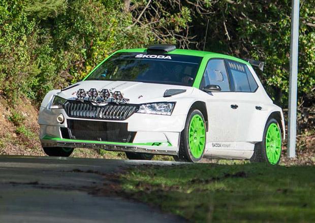 Nová Škoda Fabia R5 spatřena při testech: Facelift i pro soutěžáka!