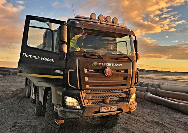 Tatrovky pomáhají při těžbě mědi ve Švédsku