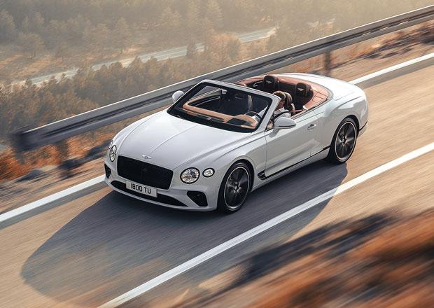 Bentley odhaluje nový Continental GT Convertible