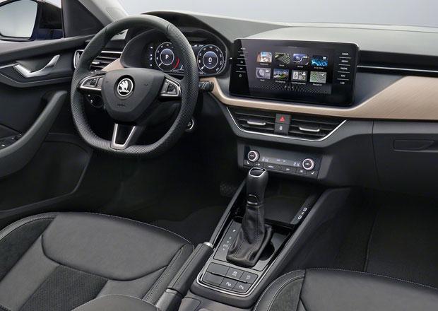 Škoda Scala poprvé odhaluje interiér! Jak mu sluší zcela nová obrazovka?