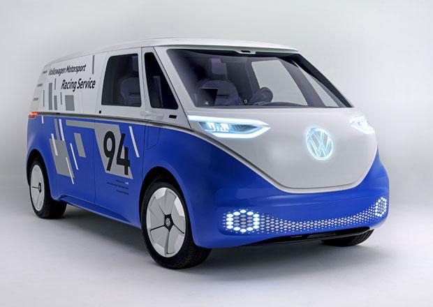 Volkswagen I.D. Buzz Cargo spojil klasický styl s barvami rekordmana z Pikes Peak