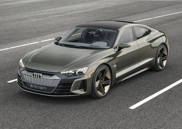 Audi e-tron GT Concept je studií elektromobilu třídy GT. Výroba od roku 2020!