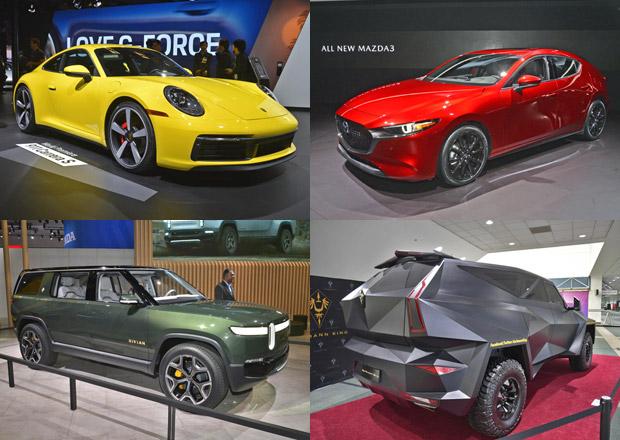 Los Angeles Autoshow 2018: Mrkněte na obří galerii novinek z kalifornského autosalonu