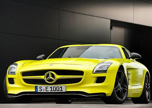 Mercedes-AMG zvažuje nástupce elektrického supersportu SLS AMG Electric Drive