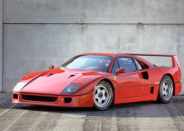 Jediné Ferrari F40 mělo samočinnou spojku. Vlastnil jej Gianni Agnelli