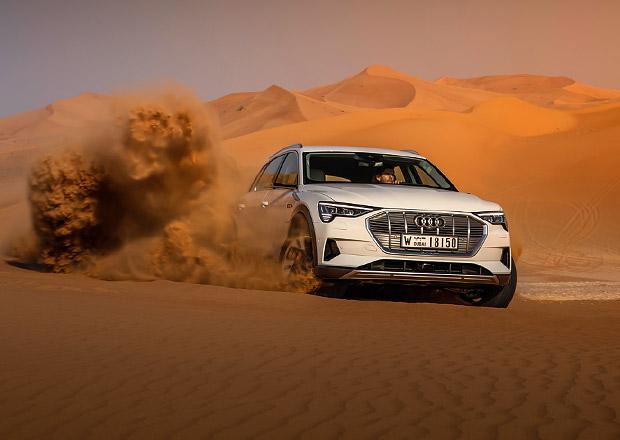Poprvé za volantem Audi e-tron. Jak se jezdí s elektrickým SUV bez zrcátek?