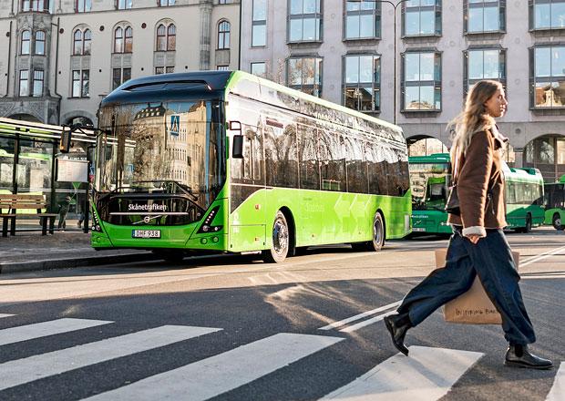 Volvo 7900 Electric míří do linkového provozu v Malmö