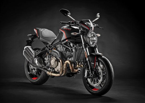 Ducati Monster 821 Stealth nabízí více stylu i výbavy pro rok 2019