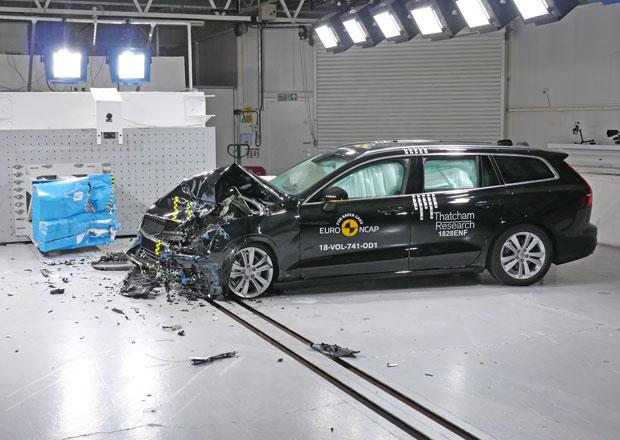 Euro NCAP 2018: Volvo V60 a S60 - Tradičních pět hvězd pro dvojčata ze severu