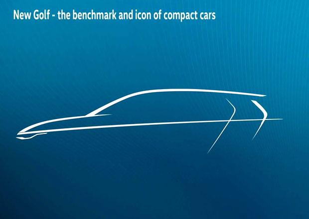 Volkswagen se už připravuje na debut nového Golfu. Tohle je jeho silueta