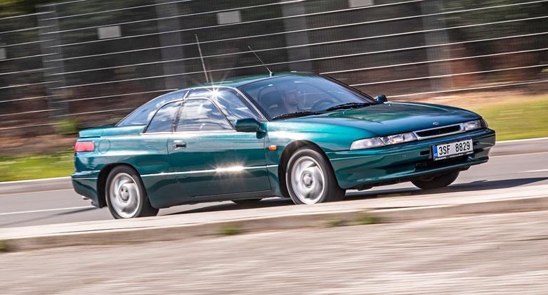 Ojeté Subaru SVX: Úžasné auto, na které už skoro nic neseženete