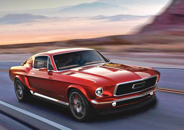 V Rusku postavili klasický Ford Mustang. Elektrický, přirozeně...