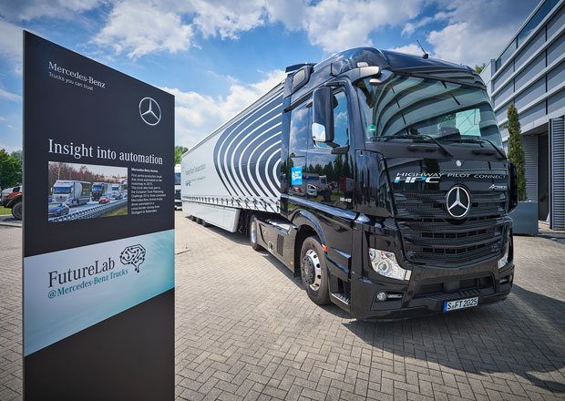 Mercedes-Benz Future Lab: Vozy budoucnosti