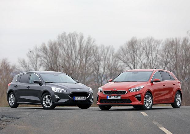 Ford Focus 1.0 EcoBoost vs. Kia Ceed 1.0 T-GDI – Vysoká hra kompaktů