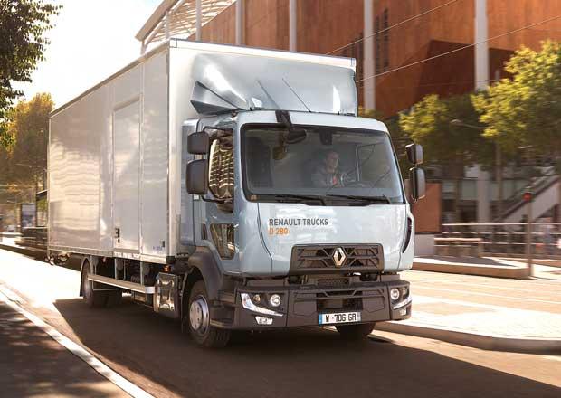 Renault Trucks řada D nastupuje v modernizované podobě pro rok 2019