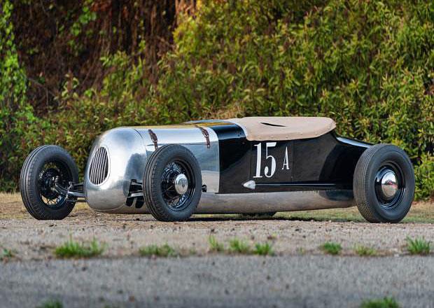 Rekordní hot rod Spurgin-Giovanine Roadster čeká dražba