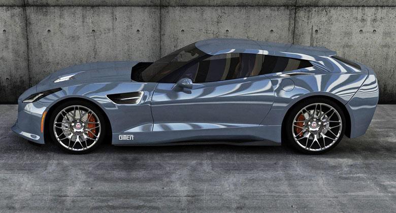Německý Bitter připravuje vlastní Corvette Shooting Brake