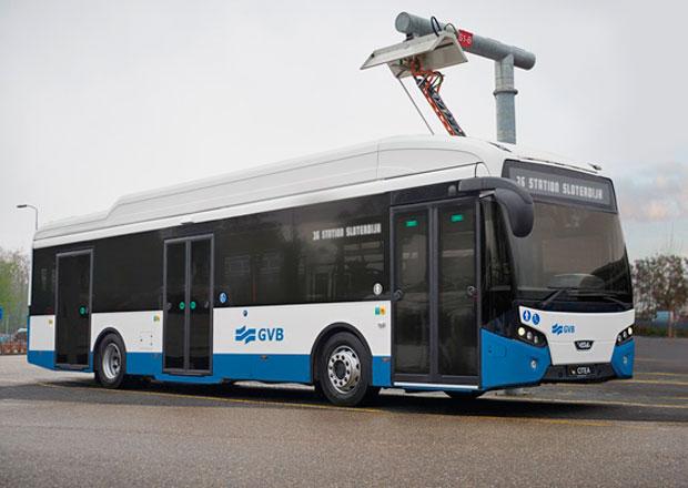 Elektrické autobusy VDL Citea Electric míří do Amsterdamu
