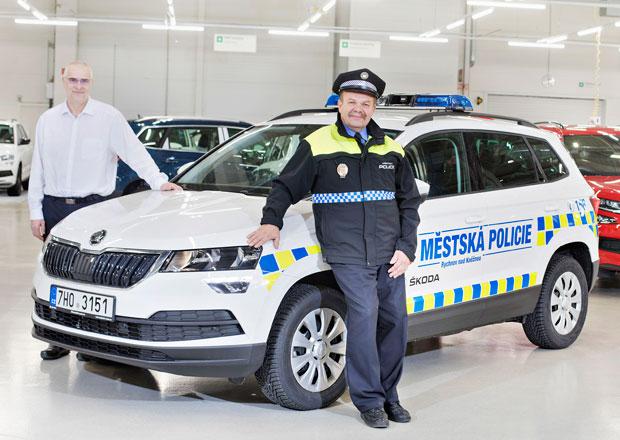 Škoda Karoq míří k policii. Kde bude sloužit?