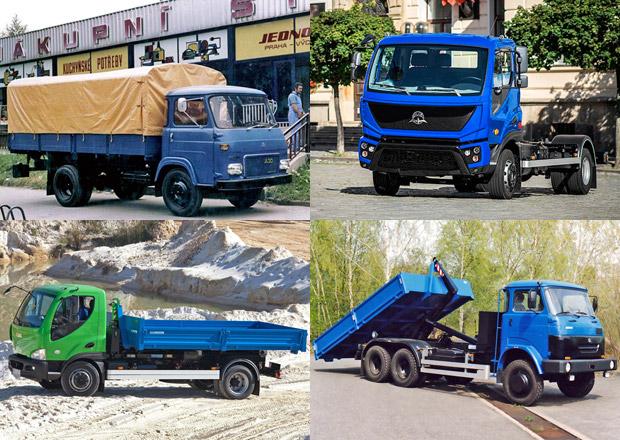 Prohlédněte si nákladní vozidla Avia od prvních modelů řady A až po nejnovější D Initia