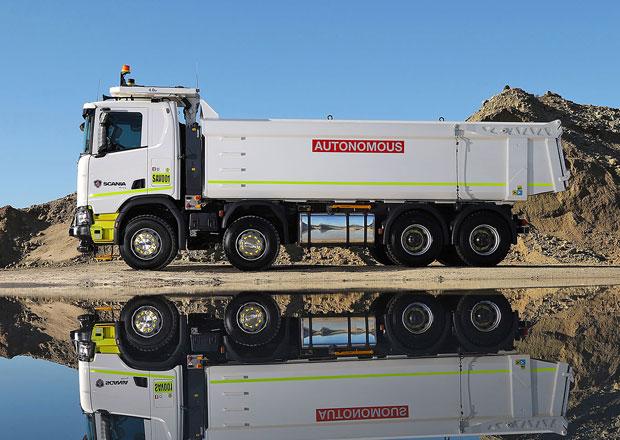 Scania a Rio Tinto testují nákladní vozidla s autonomním řízením