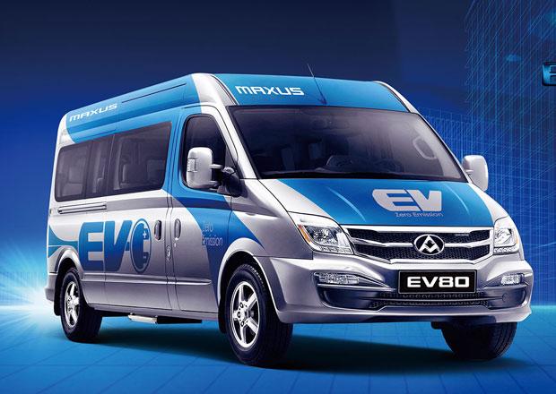 Elektrický SAIC Maxus EV80 vychází z britského LDV