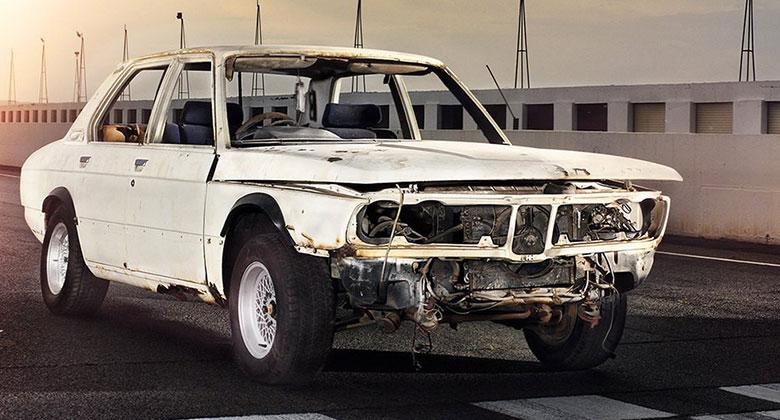 Sportovní kořeny BMW M v Německu nehledejte. Vzácná 530 MLE série E12 se znovu narodí