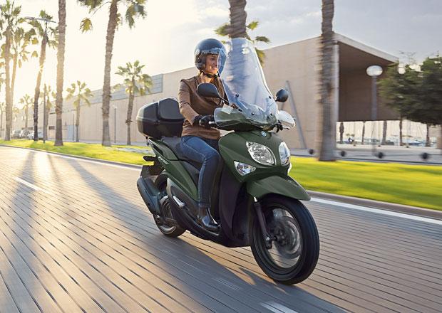 Yamaha Xenter 125 je městský elegán na vysokých kolech