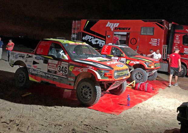 Rallye Dakar 2019: Prokop měl na cestě zpoždění