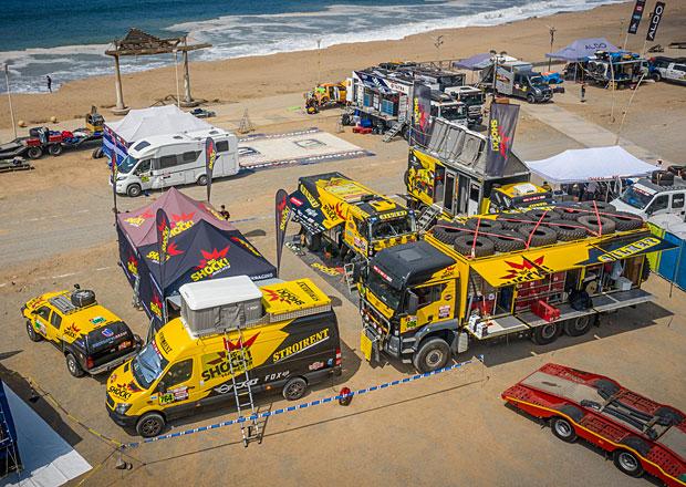 Rallye Dakar 2019: Tým Big Shock Racing se hlásí z Limy