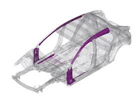 Nová Mazda 3 je zase o něco lehčí: Díky inovativní výrobě plechů