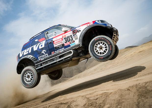 Dakar 2019 – 1. etapa: Kubiena třetí ve čtyřkolkách, Prokop měl problémy