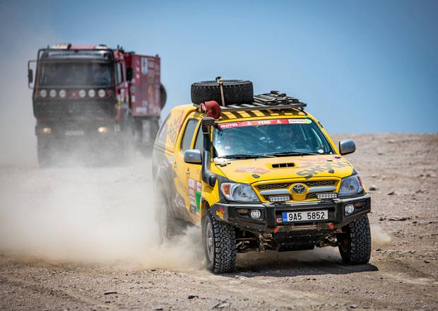 Dakar 2019, ohlasy Čechů 2.den: Prokopův postup