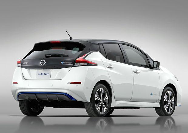 Nissan představuje limitovanou edici Leafu. S vyšším výkonem a delším dojezdem!