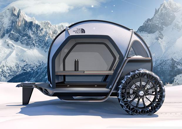 BMW Designworks a The North Face představují revoluční stan na kolech