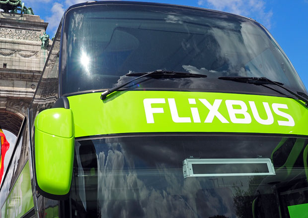 FlixBus v Česku v roce 2018 zdvojnásobil počet zastávek