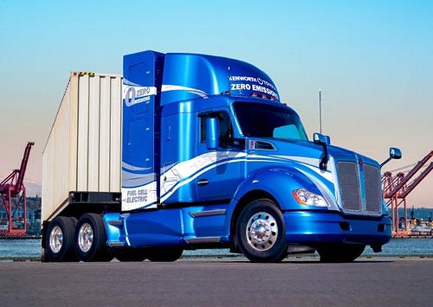 Kenworth a Toyota spolupracují na vývoji nákladních vozidel s nulovými emisemi