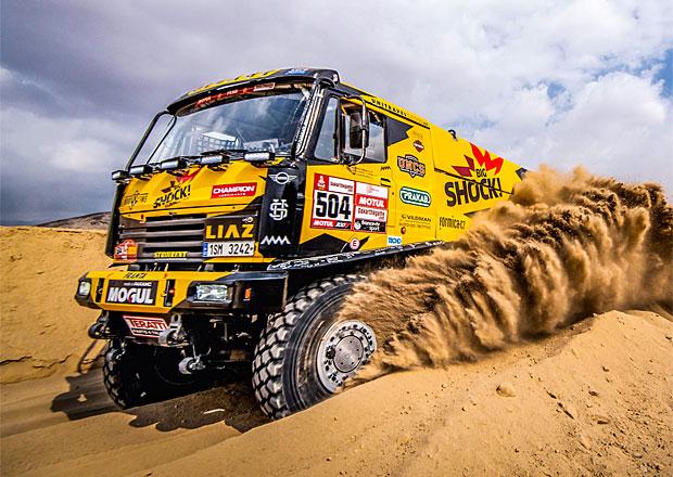 Dakar 2019 – 4. etapa: Skvělý Macík dojel druhý
