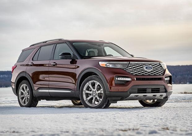 Ford Explorer se v šesté generaci vrací ke kořenům. Základem je pohon zadních kol!