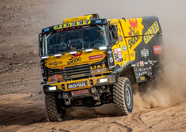 Dakar 2019, ohlasy Čechů 5.den: Macík bez předního náhonu a brzdy