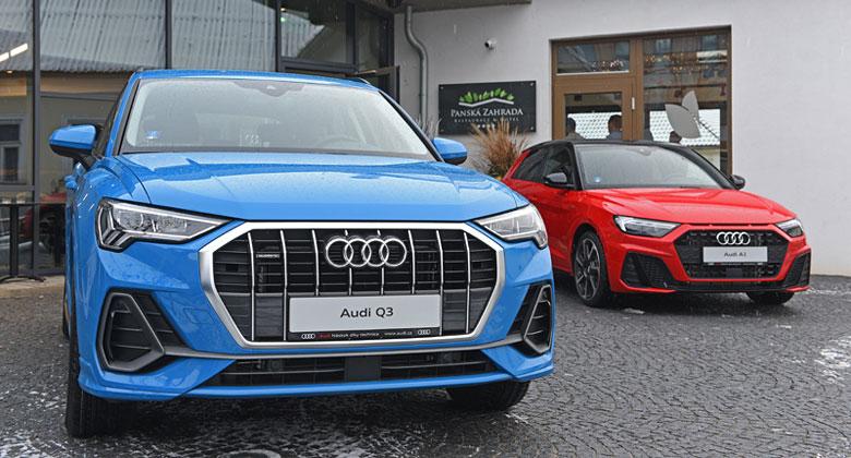 Vyzkoušeli jsme nové Audi A1 a Q3 na českých silnicích. Nadchla nás obě!