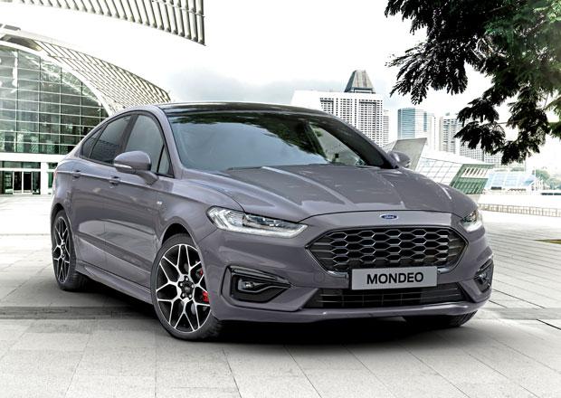 Ford Mondeo přijíždí v modernizované podobě. Nabídne hybridní kombi a moderní turbodiesel