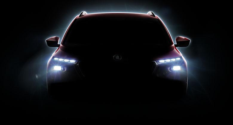 Škoda už láká na sériový Vision X! Tady je první upoutávka na malé SUV
