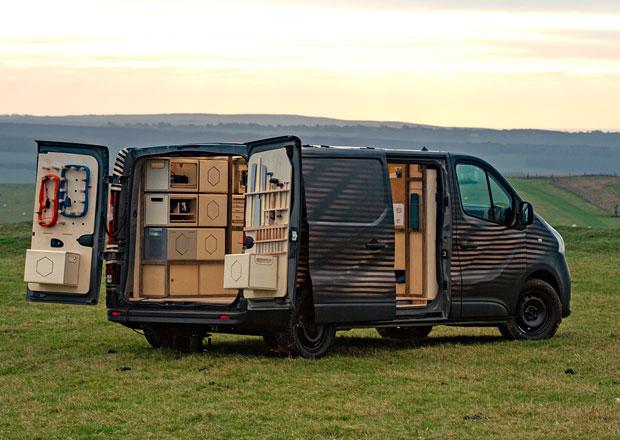 Nissan NV300 Concept-van má být zhmotněným snem řemeslníků na cestách