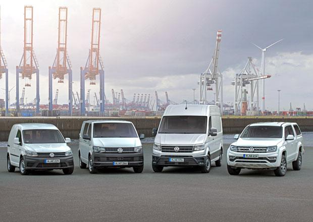 Volkswagen Užitkové vozy upevnil pozici jedničky na českém trhu