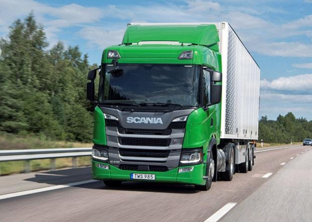 Scania se podílí na rozšiřování vozidel s pohonem na LNG