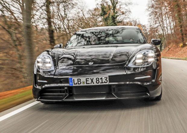 Porsche zdvojnásobí výrobu elektromobilu Taycan!