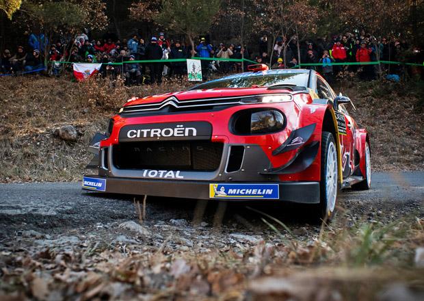 Rallye Monte Carlo po RZ8: Vede šampion Ogier